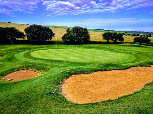 Brighton & Hove Golf Club 6th (and 15th) green