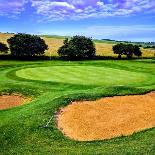Brighton & Hove Golf Club 6th (and 15th) green
