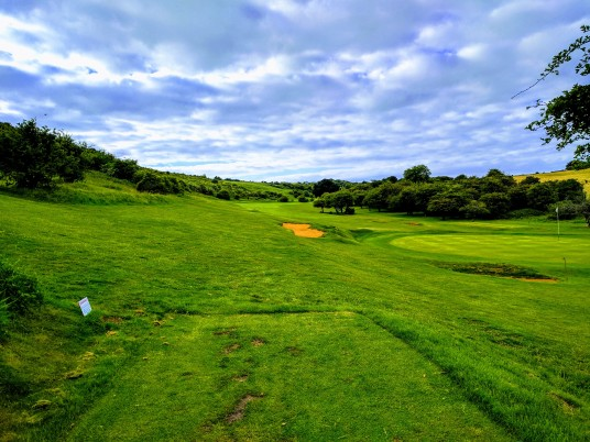 Brighton & Hove Golf Club 7th tee