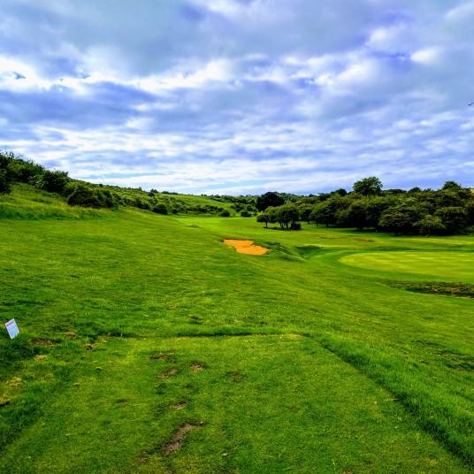 Brighton & Hove Golf Club 7th tee