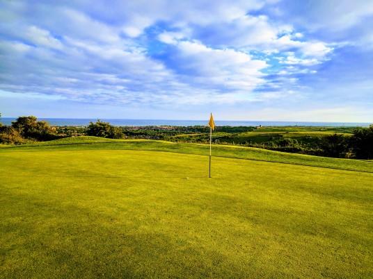 Brighton & Hove Golf Club 5th (and 14th) green