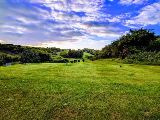 Brighton & Hove Golf Club 17th Tee