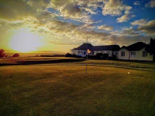 Brighton & Hove Golf Club 9th (and 18th) green
