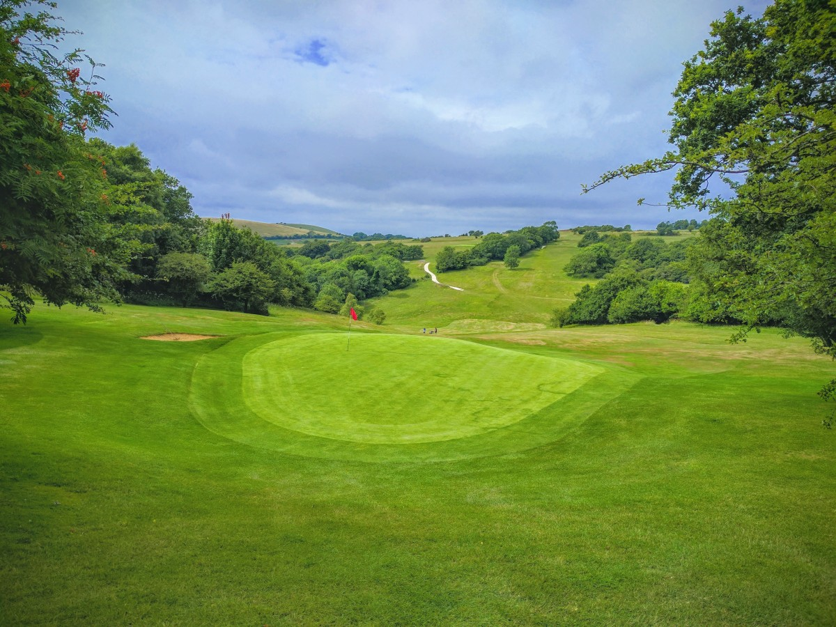 pyecombe golf club course review the sussex golfer. Black Bedroom Furniture Sets. Home Design Ideas